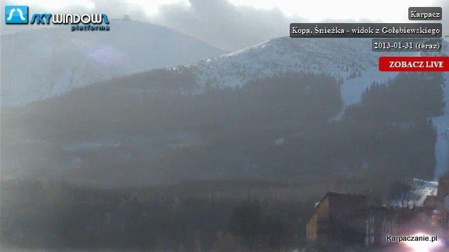 Widok na Śnieżkę - Karpacz