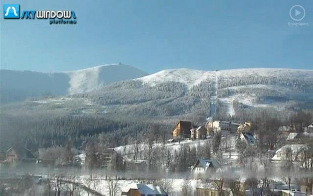 Widok na Kopę i Śnieżkę - Karpacz