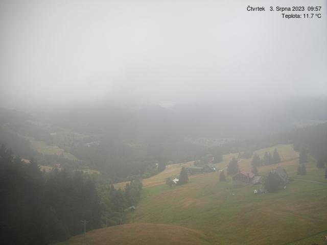 Widok z Pecu pod Śnieżką - Karpacz