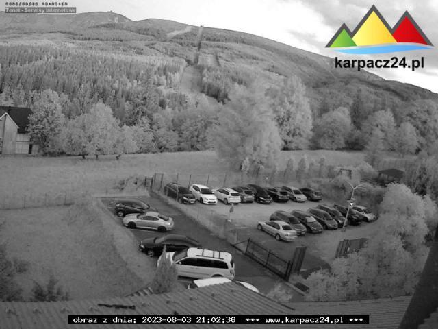 Śnieżka z ośrodka Halny - Karpacz